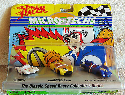 Speed Racer - Micro Techs - Ace 1994 Vehicles Collection - New