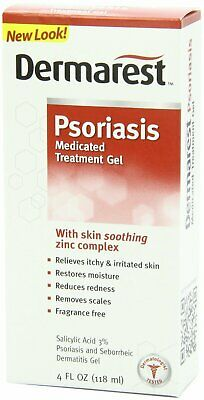 Dermarest Psoriasis Medicated Skin Treatment - 4 Fluid Ounce (Pack Of 3)