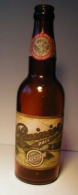 Rare Pre Pro 1915 Pan Pacific Expo Rainier Beer Paper Label Beer Bottle, Sf, Cal