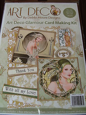 Debbi Moore Art Deco Glamour Cardmaking Kit with FREE CD