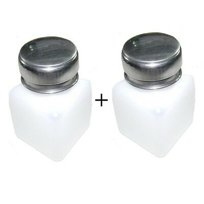 2 pcs 100ml Liquid Push Alcohol Dispenser Solder Flux Bottle Cleaner Anti-Reflux