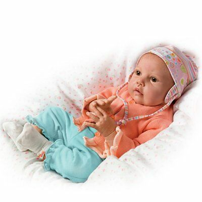 Ashton Drake Hannah Goes To Grandma's So Truly Real Baby Doll by Jannie DeLange