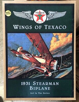 Wings of Texaco (4) NIB Model Airplanes 3rd,4th,5th,6th in the series.