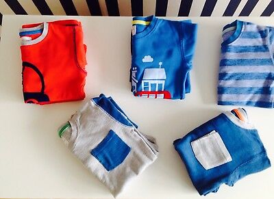 🌟Next Boys Pyjamas 🌟 5 Pairs Snuggle Fit PJs - Age 4-5 Years Sleepwear