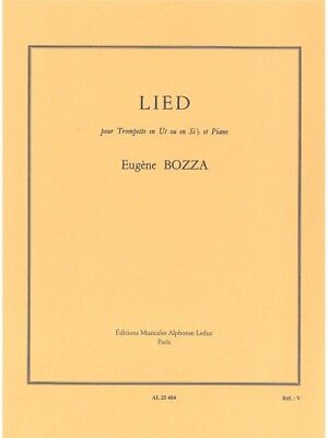 Eugène Bozza: Lied (Trumpet/Piano). Sheet Music