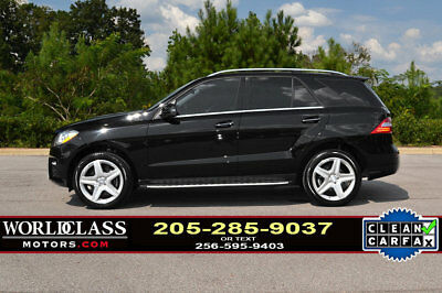 2015 Mercedes-Benz M-Class ML 350 RWD 4dr ML350 Loaded 2015 Mercedes Benz ML350 AMG Sport w/Navigation 12 13 14 16 GLE 350 550