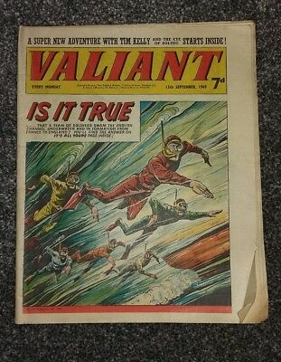 Valiant comic 13 September 1969