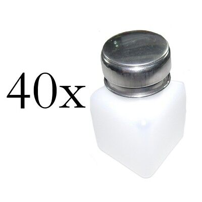 Wholesale Lot of 40x 100ml Liquid Alcohol Dispenser Solder Flux Bottle Cleaner