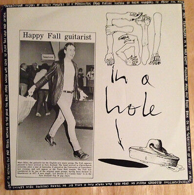 The Fall ~ Fall in a Hole ~ Flying Nun Records ~ New Zealand Import ~ Mint/Rare