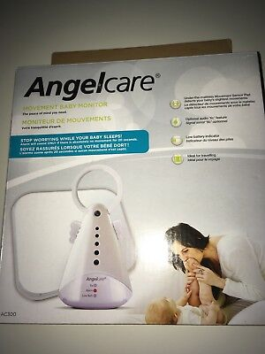 Angelcare AC300 Baby Monitor BREATHING & MOVEMENT ALARM Safety System Sensor