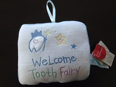 Tooth Fairy Pillow w/Pouch for Tooth by Russ Berrie & Co.