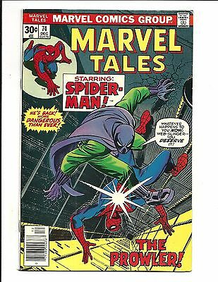 Marvel Tales # 74 (Reprints Amazing Spider-Man # 93, Dec 1976), Vf-