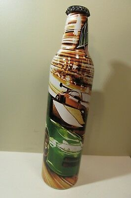 Mountain Dew Green Label Art Aluminum Bottle Empty Original Cap Tokyo Drift Cars