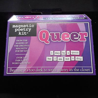 NEW QUEER Magnetic Poetry