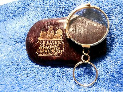 """15K Gold Rare 1840's  C. W Dixey Lorgnette  Hallmarked """"g"""" For Solid Gold!!"""