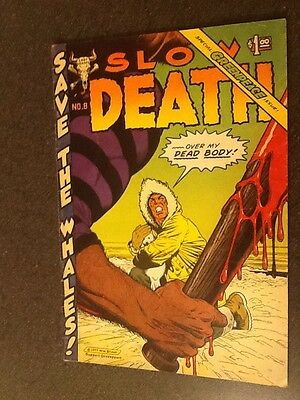 Slow Death #8 (1977, Last Gasp). First Printing, Very Good/Fine Condition.