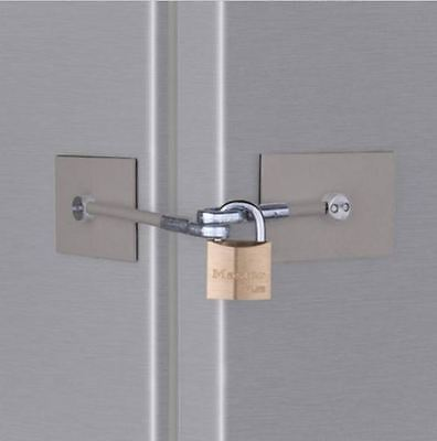 Stainless Fridge Lock - Marinelock Refrigerator Lock - **NO PADLOCK**