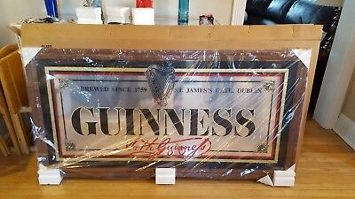 GUINNESS BAR MIRROR- Local pick up only