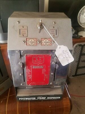 Vintage Original U.S. Stamps Postmaster 3-4 Cent Dispenser