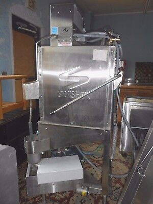 American Dish System Af-Es Commercial Dishmachine