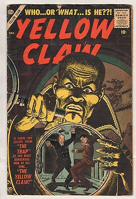Yellow Claw #2 (VG-) (1956, Atlas) Kirby!