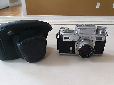 Contax Camera with Carl Zeiss Sonnar 50mm lens