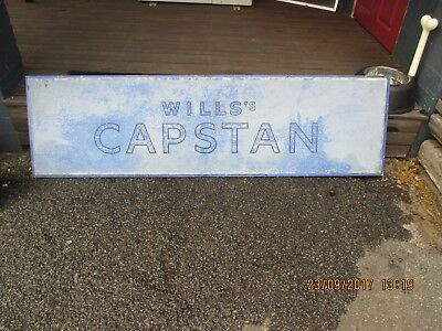 Will's Capstan Tin Sign