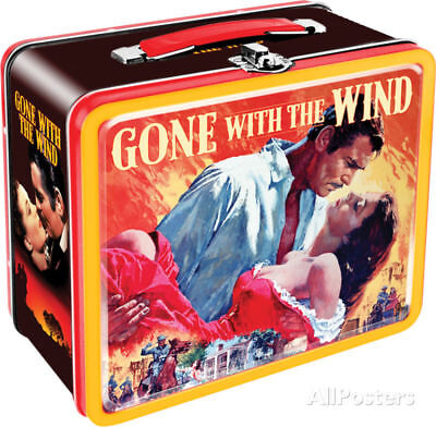 Gone With The Wind Lunch Box Metal Collectible - 8x7