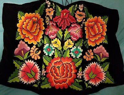 New Sexi Corset Tehuana Enbroidered Size38 (large)