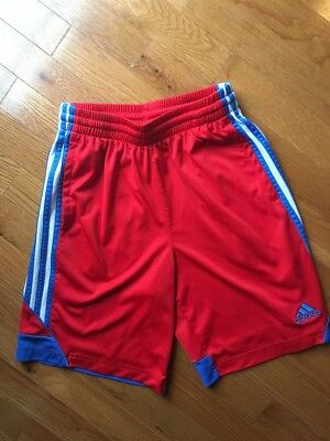 Youth Adidas Red And Blue Shorts Size Medium