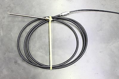Boat Steering Cable Mechanical Quick Fit Fast Connect Steering Cable 13' Long