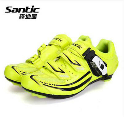Women Pro Cycling Lock Shoes Cleated Waterproof Road Bicycle Riding Racing Wear