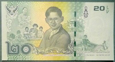 Thailand 20 Baht Commemorative Note,  Just Released,2017, P - New