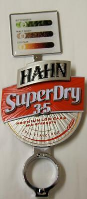 Collectible Hahn Superdry 3.5 Double Sided Metal Tap Top