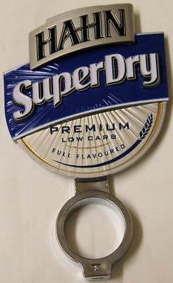 Collectible Hahn Super Dry Premium Double Sided Metal Tap Top
