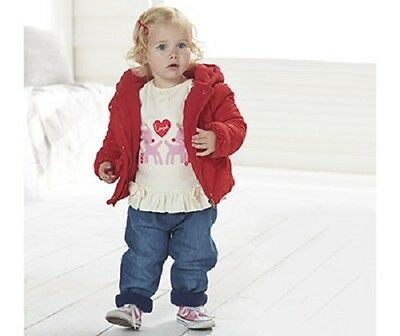 Baby girl clothes 6-12months jacket jeans & top