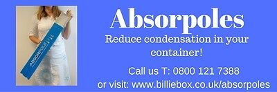 Absorpoles to correct condensation £23.50 each+VAT & P+P
