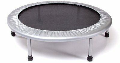 Stamina Folding Trampoline Small Exercise Round Bounce Fitness Mini In Door