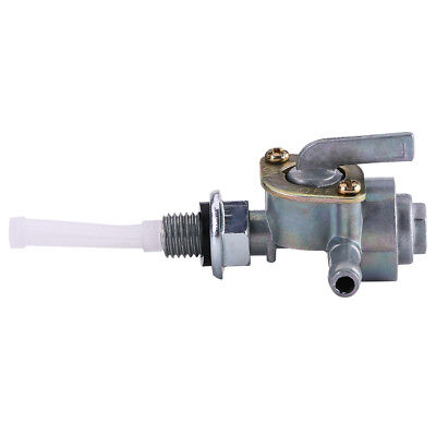 """Fuel Gas Tank Petcock Valve On off Shutoff Switch for For Generator 1/4"""" Hose sg"""