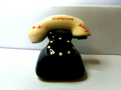 telephone ulverstone salt and pepper shakers
