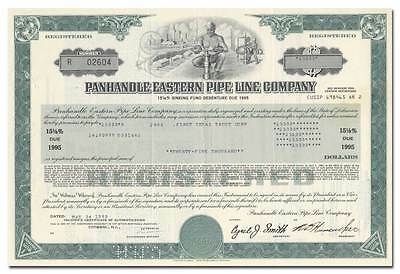 Panhandle Eastern Pipe Line Company Bond Certificate