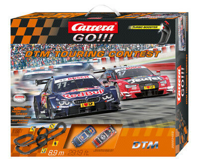 Carrera 62423 Go!!! DTM Touring Contest Audi RS 5 vs BMW M4 Slot Car Set 1:43