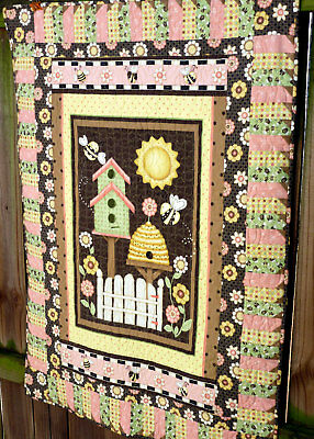 Let It Bee Quilt Kit - incl. pattern and all fabrics incl. backing and binding