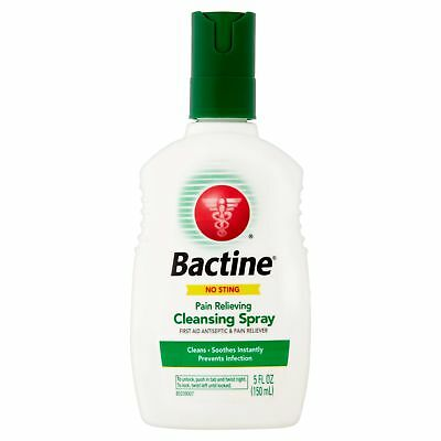 Bactine Pain Relieving Cleansing Spray - 5 Fluid Ounce (Pack Of 3)