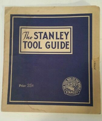 "American ""1944 The Stanley Tool Guide"" Extremely Rare (New Britain, Connecticut)"