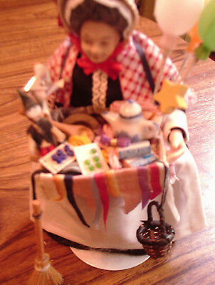 Dolls House Pedlar Doll