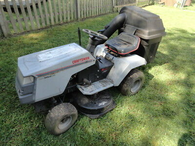 Craftsman II OHV Gold 12.5HP Riding Lawn Mower - LOCAL PICKUP - DOES NOT RUN