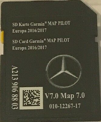 Carte SD GPS MERCEDES (Star2) GARMIN MAP PILOT Europe 2017 v7 - A2139068803
