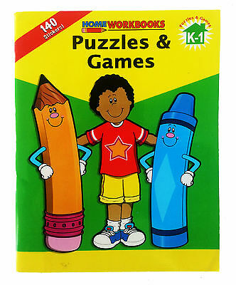Educational Workbook - Puzzles & Games