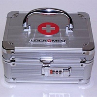 Lockmed Asa200 Medication Lock Box - 1 Each